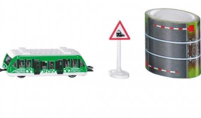 Siku 16 - Pociąg lokalny + taśma z torami S1603