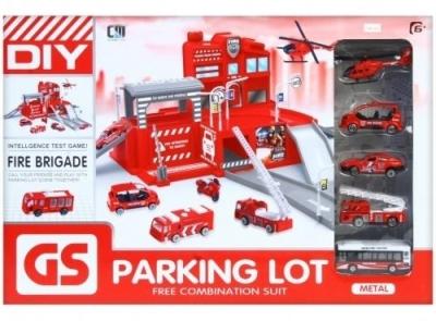 Parking i metalowe akcesoria pojazdy ratunkowe