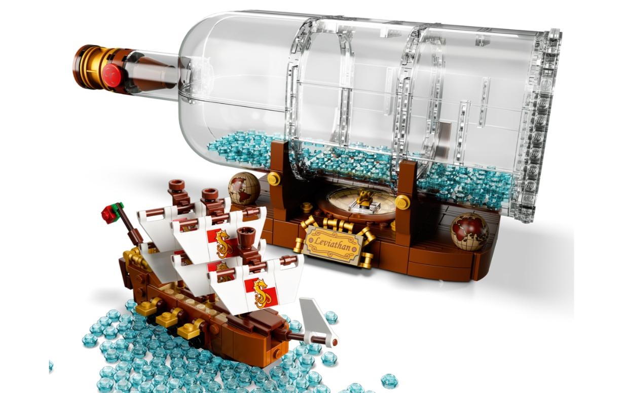 Lego Ideas: Statek w butelce (92177)