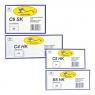 Koperty C6 SK białe op. 5 sztuk