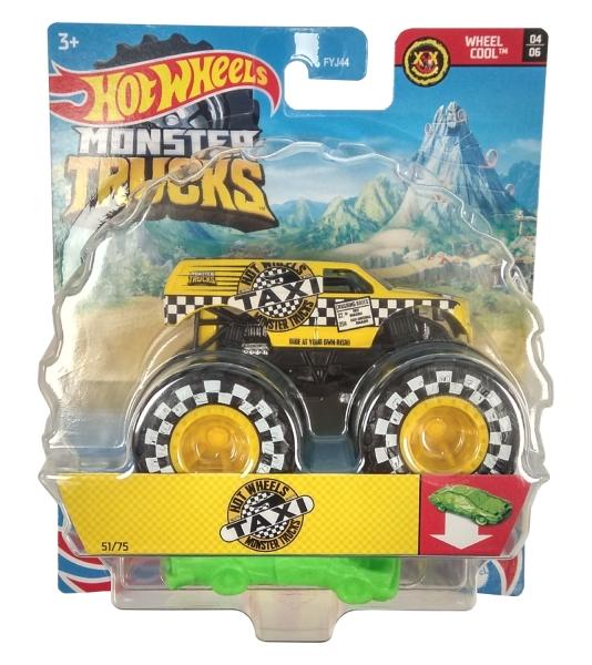 Hot Wheels Monster Trucks: Pojazd 1:64 - Taxi (FYJ44/GTH95)