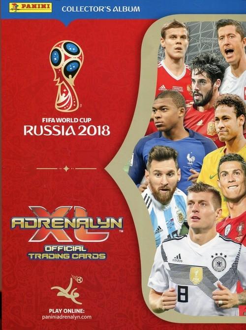 Fifa World Cup Russia 2018 album kolekcjonera