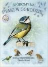 Spójrzmy na ptaki w ogrodzie. Książeczka edukacyjna z naklejkami