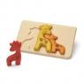Żyrafy - Puzzle drewniane