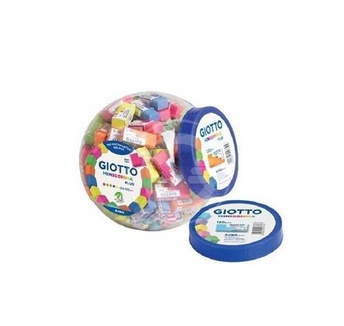 Mini gumka Fluo 120 sztuk mix