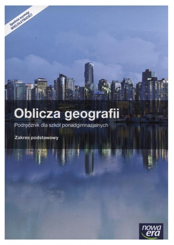Oblicza geografii 1. Podręcznik i atlas geograficzny dla szkół ponadgimnazjalnych. Zakres podstawowy Uliszak Radosław, Wiedermann Krzysztof
