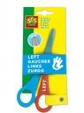 Bezpieczne nożyczki dla małych leworęcznych dzieci