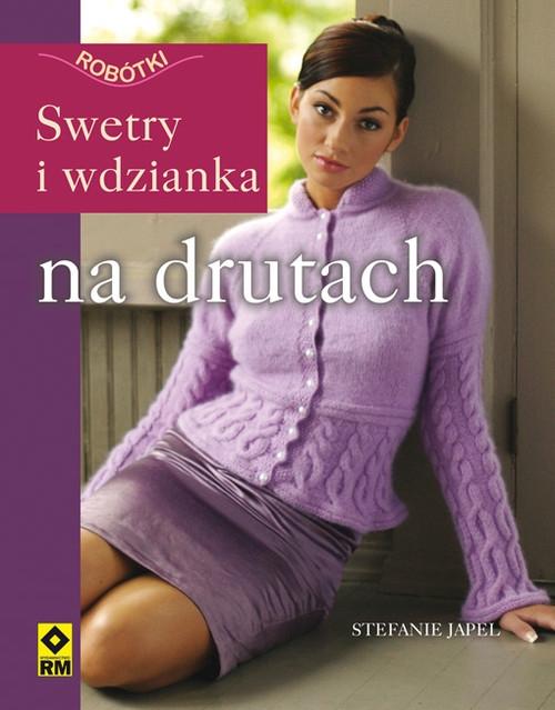 Swetry i wdzianka na drutach Japel Stefanie