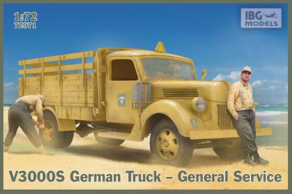 Model plastikowy Niemiecka ciężarówka General service V3000 S (72071)