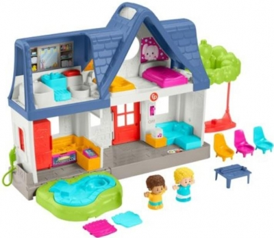 Little People: Wesoły domek Małego Odkrywcy (HCJ65)