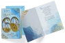 Karnet B6 konfetti KNF-041 Urodziny 60 męskie