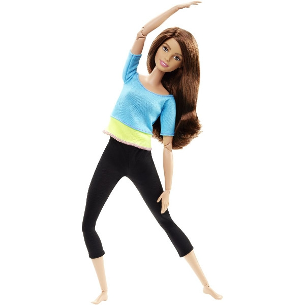 Barbie Made to Move Lalki Blue Top (DHL81/DJY08)