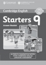 Cambridge English Young Learners 9 Starters Answers Booklet