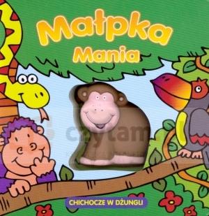 Małpka Mania chichocze w dżungli David Crossley (ilustr.), Christine Swift