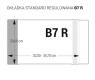 Okładka na podręczniki regulowana B7R op.25szt OZ-41