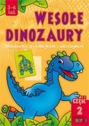 Wesołe dinozaury część 2 Karpińska Agata