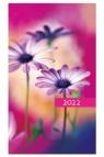 Kalendarz 2022 Tygodniowy Kolorowy kwiatki