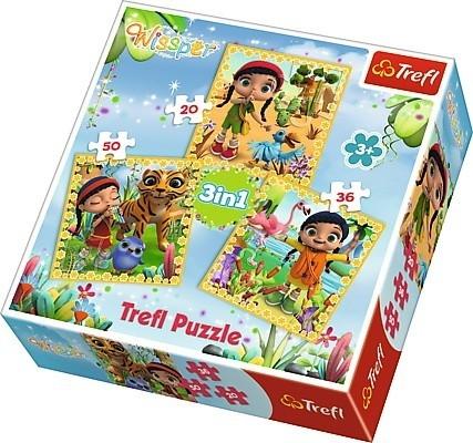 Puzzle 3w1 Wissper Wspólne podróże