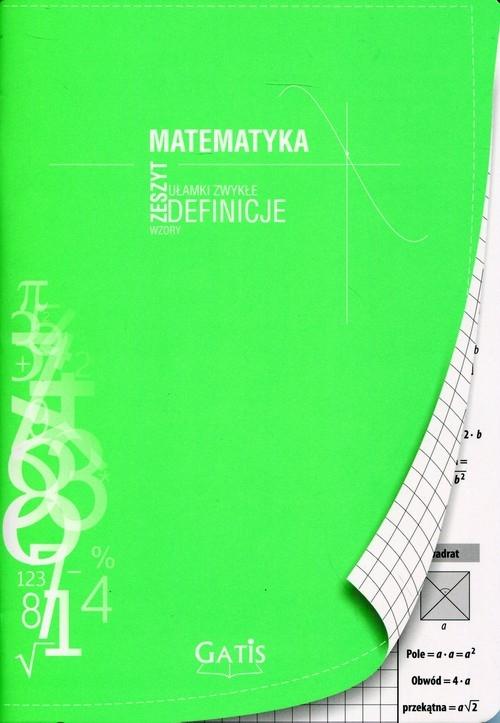 Zeszyt A5 Matematyka w kratkę 60 kartek