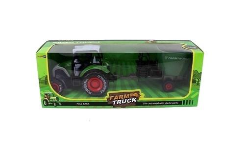 Traktor z maszyną rolniczą 30cm