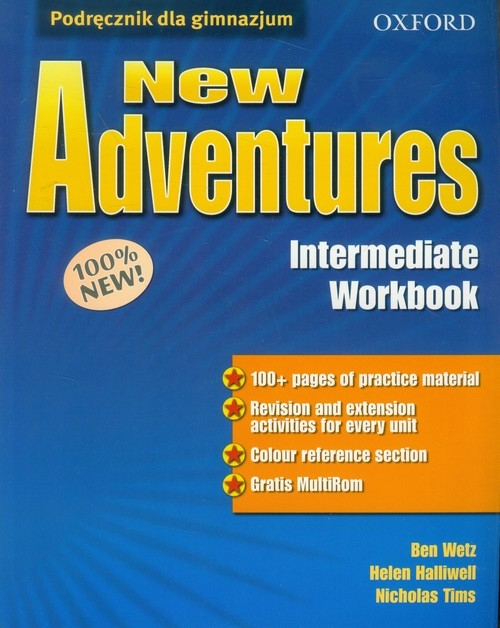 New Adventures Intermediate Workbook Wetz Ben, Halliwell Helen, Tims Nicholas