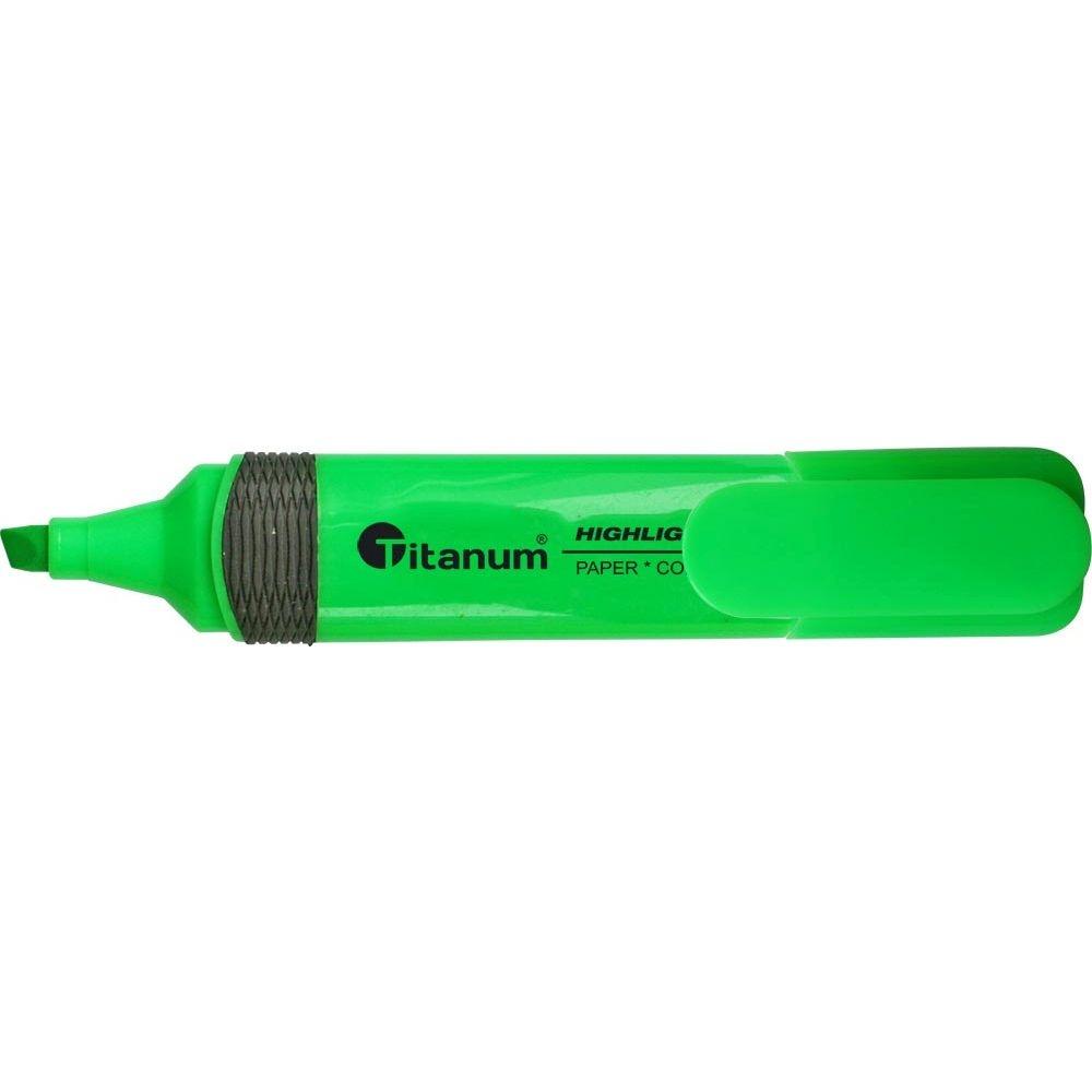 Zakreślacz Titanum CLC1190 - zielony (150464)