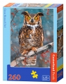Puzzle Great horned Owl 260 elementów