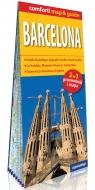 Barcelona laminowany map&guide (2w1: przewodnik i mapa) Rogala Larysa
