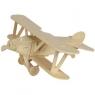 Puzzle drewniane 3D Samolot