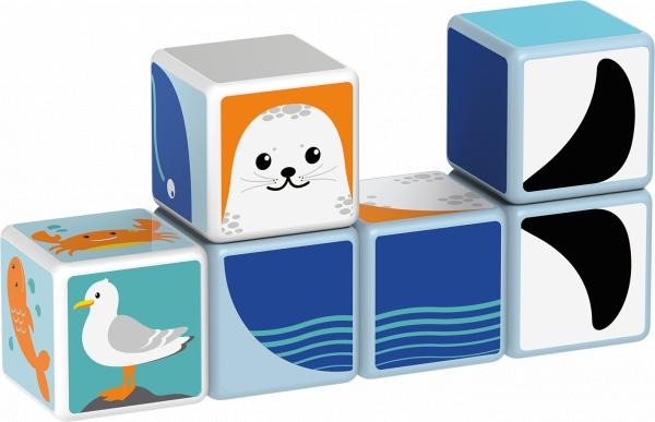 Magicube zestaw zwierzęta polarne (GEO134)