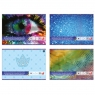 Papier kolorowy samoprzylepny holograficzny B5, 8 kartek (270950)