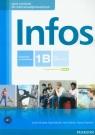 Infos 1B podręcznik z ćwiczeniami z płytą CD kurs podstawowy + Serzysko Cezary, Sekulski Birgit, Drabich Nina