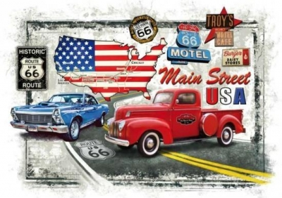 Puzzle 1000 - Old Route 66