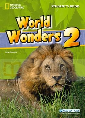 World Wonders 2 SB +CD MICHELE CRAWFORD, KATY CLEMENS, KATRINA GORMLEY