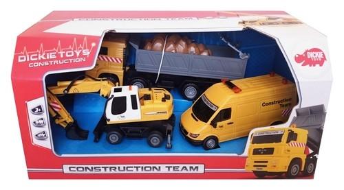 Zestaw pojazdów budowlanych (203725001)