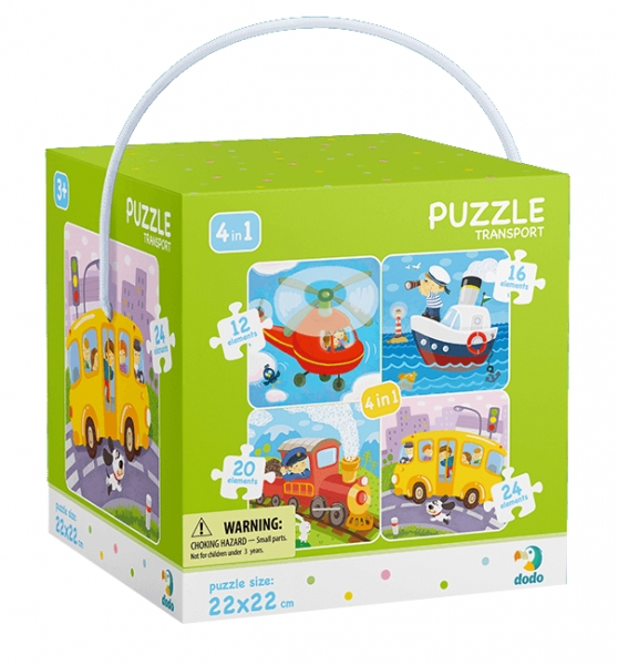 Puzzle 4w1: Transport (DOP300132)