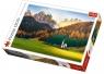 Puzzle 1500 elementów Kościołek w Dolomitach (26134)