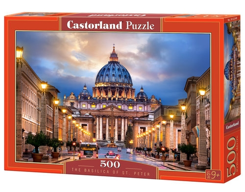 Puzzle 500: The Basilica of St. Peter
