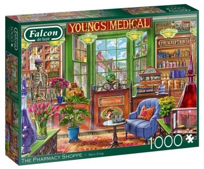 Puzzle 1000 Falcon Apteka G3