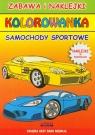 Samochody sportowe Kolorowanka