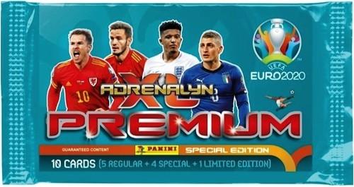 Karty Premium Adrenalyn XL EURO 2020 saszetka