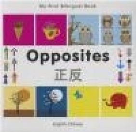 My First Bilingual Book - Opposites: English-Chinese Milet Publishing