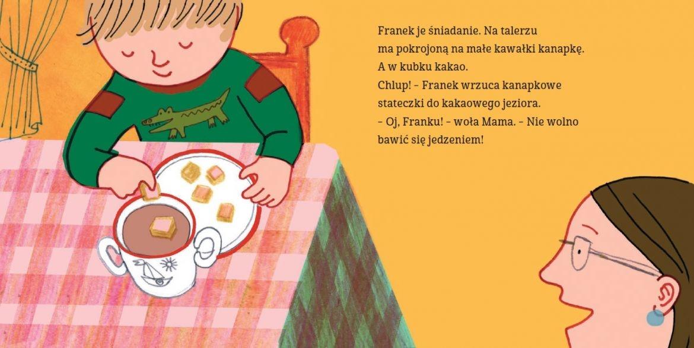 Basia, Franek i jedzenie Zofia Stanecka, Marianna Oklejak