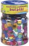 Confetti cekinowe kwiatki mix kolorów 100g