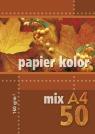 Papier kolorowy A4 50k 160g mix kolorów