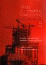 Studia z architektury nowoczesnej Tom 5 Między Polską a Rosją