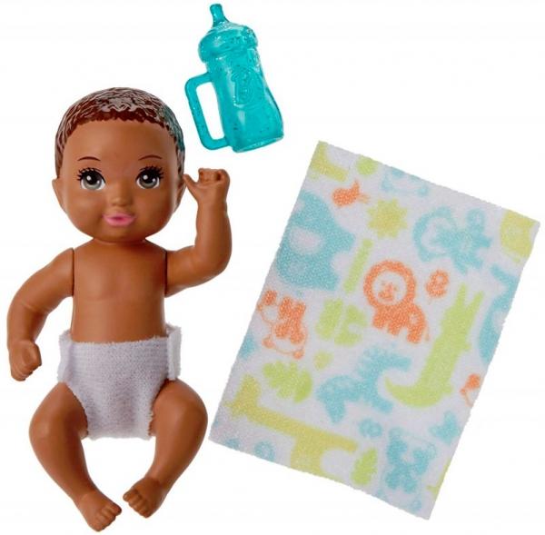 Barbie Skipper: Lalka niemowlak z akcesoriami (FHY76/FHY79)