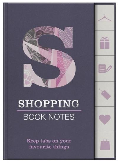 Book Notes - Shopping - znaczniki zakupy