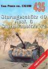 Sturmgeschutz 40 Ausf. G Sturmhaubitze 42.Tank 435