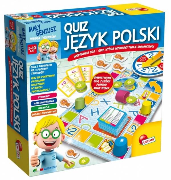 Mały Geniusz, Quiz - Jezyk Polski (304-P54350)